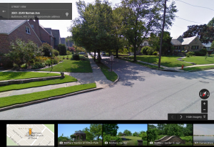 GoogleStreetViewMayfield