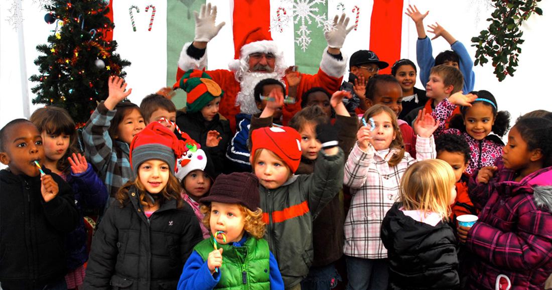 Mayfield Santa Visit